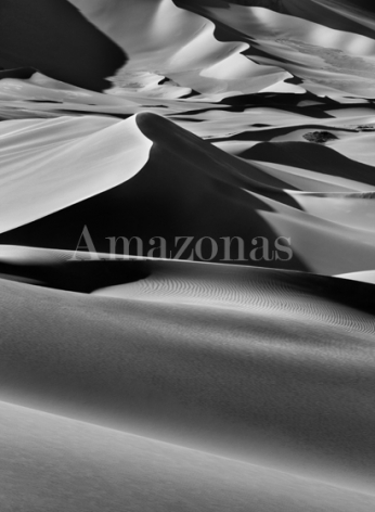 Sebastião Salgado, Sand dunes between Albrg and Tin Merzouga, Tadrart, South of Djanet, Algeria, 2009, gelatin silver print, 36 x 50 inches/91.44 x 127 cm. © Sebastião Salgado/Amazonas Images