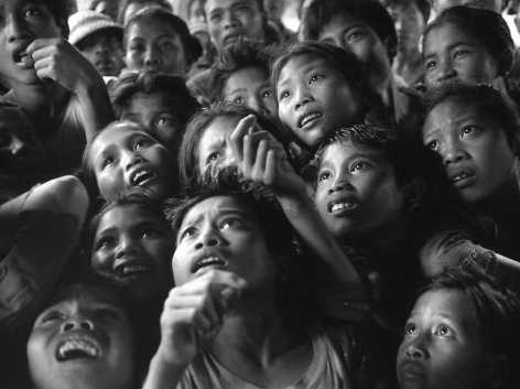 Bali, Seeing Photographs of their Parents for the First Time, 1976, Silver gelatin print, 10 x 13.5""