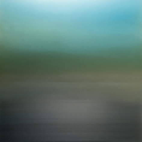 Miya Ando, Fog Green Blue