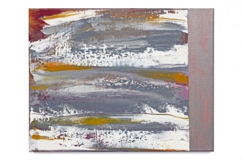 Slide, 2017, oil on linen, 11 x 14 inches/28 x 35.5 cm