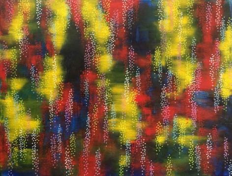 Lake, 2014, acrylic on canvas, 53 x 69 inches/134.6x 175.3cm