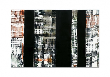 ODENWALD 1152 N.8, 2008, oil on linen, 78 x 120 inches