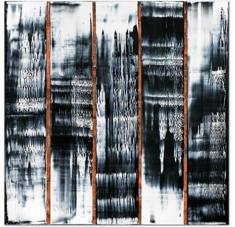 "ODENWALD 1152 N. 20, 2008, Oil on linen, 78 x 78"""