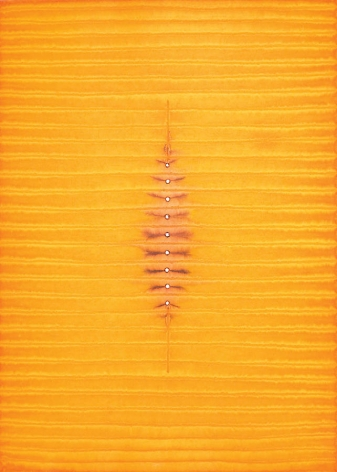 """Adya, 2008, Ink and dye on paper, 55 x 39"""""""
