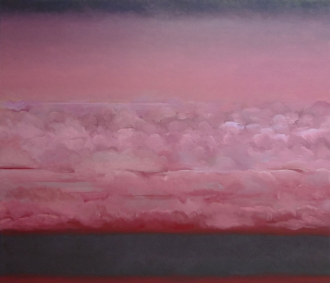 Romance, 2010,oil on canvas, 52 x 60 inches/132.1x 152.4 cm