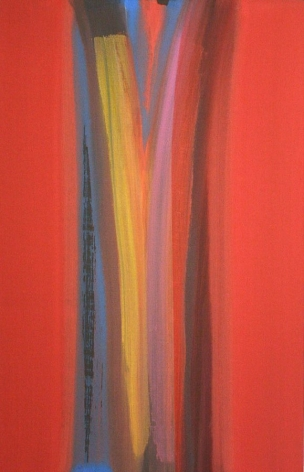 Melogrand , 2004, Acrylic on linen, 41 x 25.75""