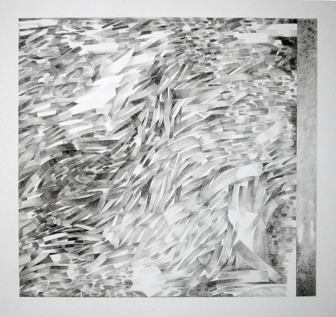 """Judith Murray Pm, 2006  Graphite on arches paper  22.5 x 30"""""""