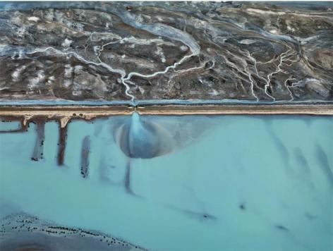 Edward Burtynsky, Cerro Prieto Geothermal Power Station, Baja Mexico, 2012, Chromogenic color print, 122 x 162.6 cm, Edition 3/6