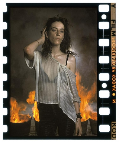Annie Leibovitz, Patti Smith, New Orleans, 1978, archival pigment print, 40 x 60 inches