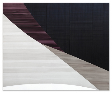 Full Circle P 3, 2020, oil on linen, 71 x 86 inches/180.3 x 218.4 cm