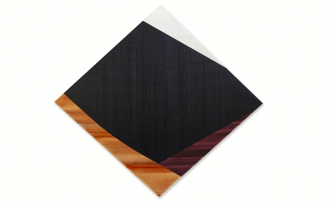 Diamond 1, 2021, oil on linen, 90 x 97 inches/228.6 x 246.4 cm
