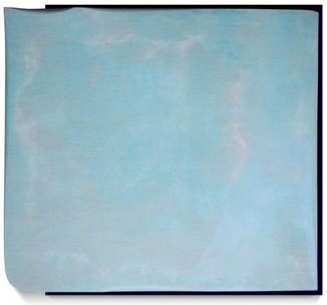 Aurora, 2013, acrylic on fabric on wood, 37 x 41 inches/94 x 104.1 cm