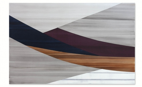 Full Circle P 19, 2021, oil on linen, 73 x 112 inches/185.4 x 284.5 cm