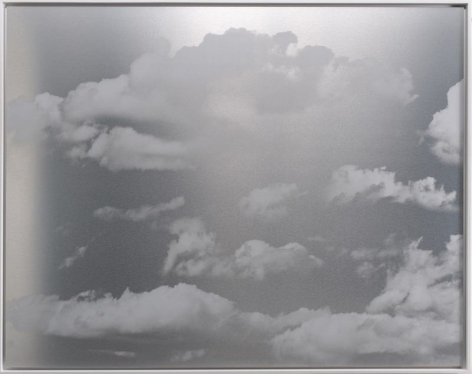 Kumo Cloud July 5.6.1, 2018, ink and dye on aluminum composite, 60 x 72 inches/152.4 x 183 cm
