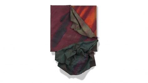 Apeel, 1983, acrylic on canvas, 36.5 x 25 x 5 inches/92.7 x 63.5 x 12.7 cm