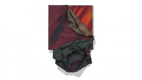 Apeel, 1983, acrylic on canvas, 36.5 x 25 x 5 inches/92.7 x 63.5 x 12.7 cm