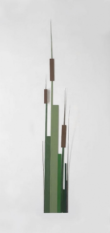 Merrill Wagner, Cat Tails, 2008