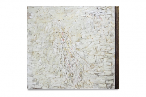 Polar, 2013, oil on linen,20 x 22 inches/50.8 x 55.9 cm