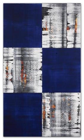 Ricardo Mazal, Kora C26, 2011, Oil on linen, 66 x 38 inches