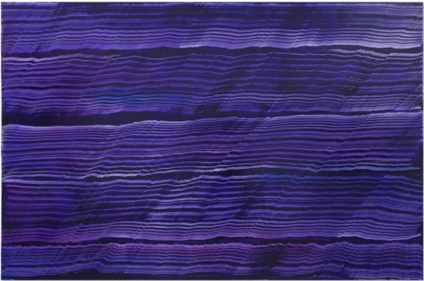 Violet Blue 4, oil on linen, 66 x 100 inches/168 x 254 cm