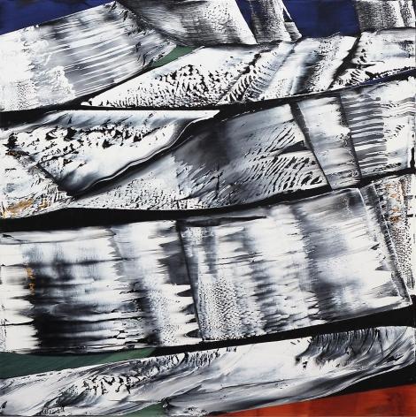 , Ricardo Mazal, Octubre 14.13, 2013, oil on linen, 50 x 50 inches