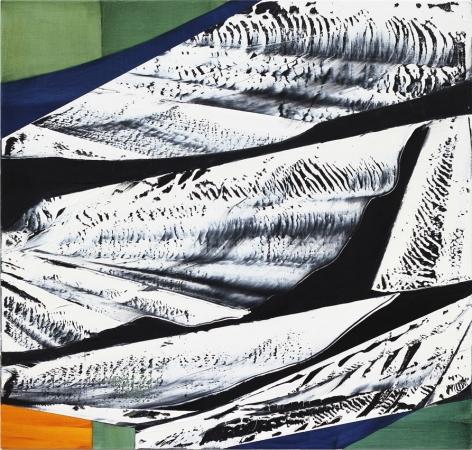 Black Mountain MK 11, 2014, oil on linen,40 x 42 inches/101.6 x 106.7 cm