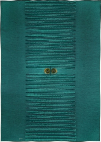Sohan Qadri,Kama III, 2007, ink and dye on paper,55 x 39 inches/139.7 x 99.1 cm