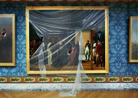 AMI.04.001, Attique du Midi, Aile du Midi - Attique, Château de Versailles, France, 2005, archival pigment inkjet print,40 x 54 inches/101.6 x 137.2 cm