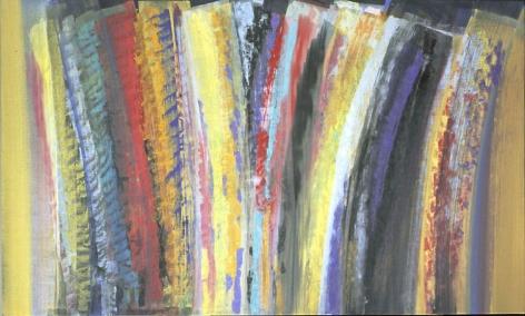 """Vittorio Matino,  Takotak , 2007, Acrylic on linen, 45.25 x 75"""""""