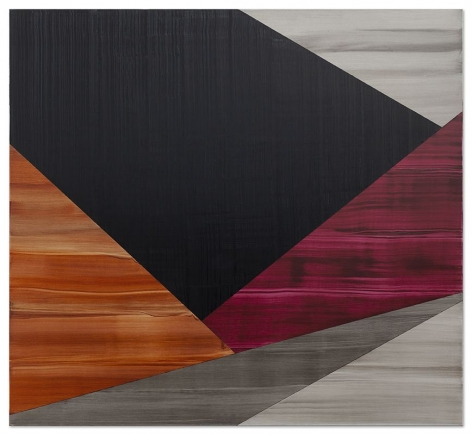 Ricardo Mazal, Praga 4, 2019, oil on linen, 80 x 87 inches/203.2 x 221 cm