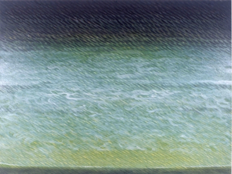 Swiftly, Lightly, 2005, oil on canvas, 60 x 80 inches/152.4 x 203.2 cm