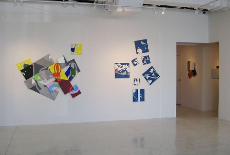 Sundaram Tagore Gallery, Beverly HIlls, Installation Susan Weil  Motion Pictures October, 2008