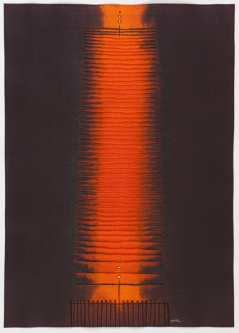 Amisha VI, 2008, ink and dye on paper,55 x 39 inches/139.7 x 99.1 cm