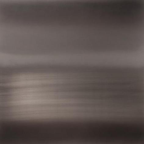 , Ephemeral Winter, 2014, urethane and pigment on aluminum, 48 x 48 inches/122 x 122 cm