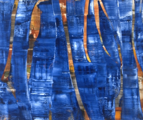 Ricardo Mazal, Marzo 29.05, 2005, oil on linen, 24 x 64 inches/ 137 x 162 cm