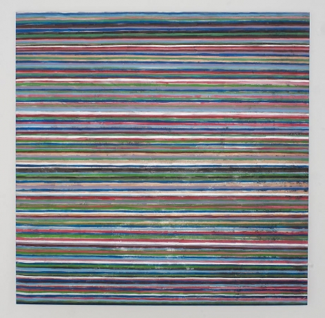 Angkrit Ajchariyasophon, 2011187, 2011, acrylic on canvas, 78.7 x 78.7 inches