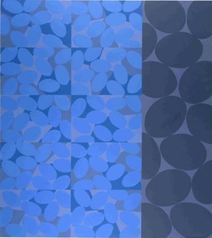 "Betty Weiss, Verge, 2003, Acrylic on Canvas, 48 x 60"""