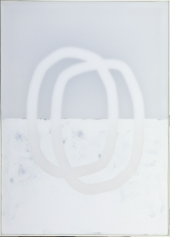 Udo Nöger, Wiegend 14, 2019, mixed media on canvas, 56 x 40 inches/142.2 x 101.6 cm