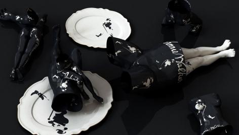 Johnnie Walker, 2011, digital print, 47 x 82.7 inches/119.4 x 210 cm