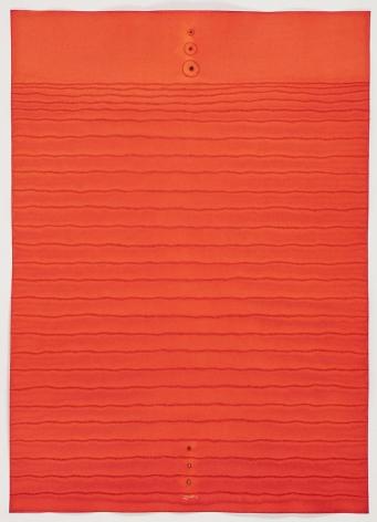 Sohan Qadri, Kanaka, 2010, ink and dye on paper, 55 x 39 inches