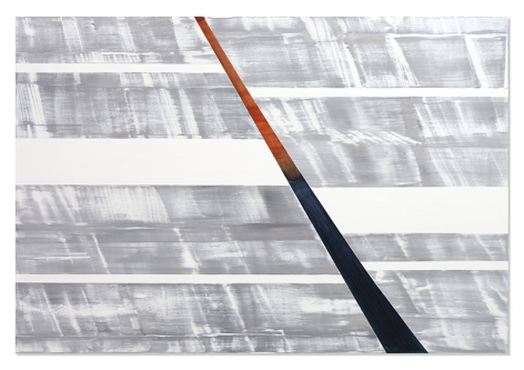 SP Text 1, 2019, oil on linen, 77 x 113 inches/195.6 x 287 cm
