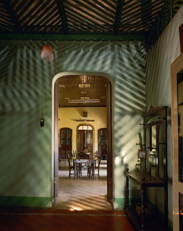 Alvares Residence, Entrance Vestibule, Margao, Goa, India, 1998, archival inkjet print, 50 x 40 inches