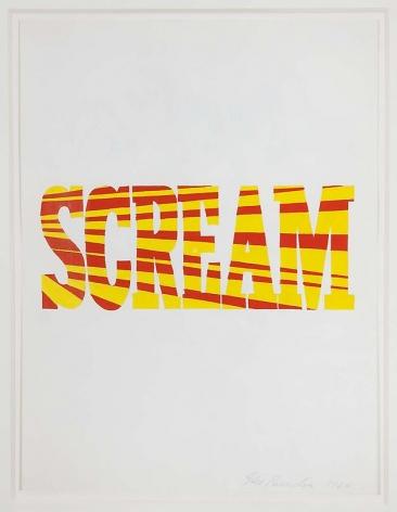 Red-Yellow Scream, 1964