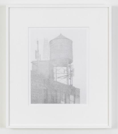 Ewan Gibbs, New York (water tower), 2016