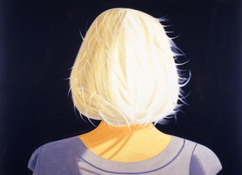 Alex Katz Tracy Oil on linen