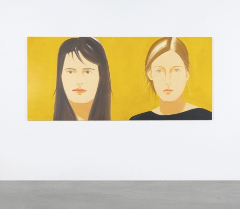 Alex Katz, Inka and Zophia, 2009