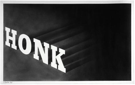 Honk, 1964 Graphite on paper