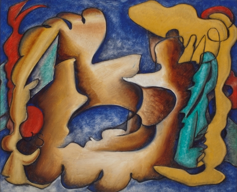 Storrs, Fish Abstraction, 1938