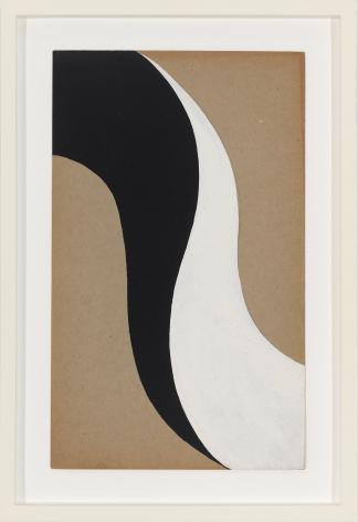 Untitled, 1961 Gouache on cardboard