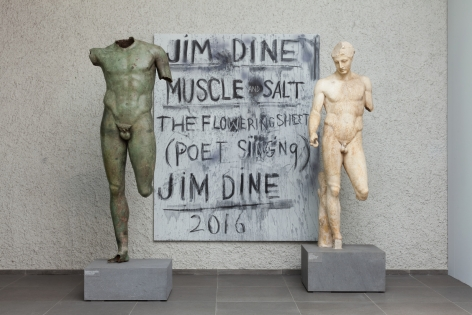 jim dine antikenmuseum installation 2016 muscle and salt